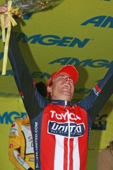 2008 Amgen Tour of California Stage 4 Podium - (c) Ken Conley